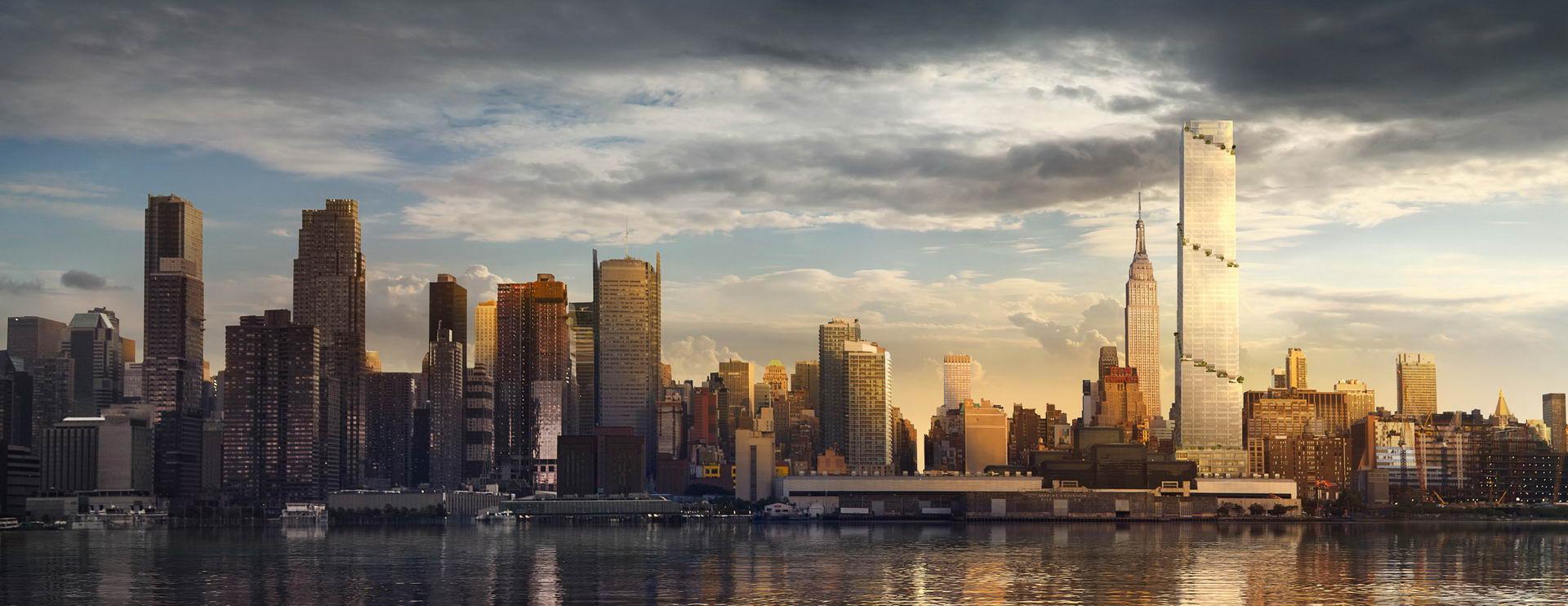 Dự Án Cao Ốc Văn Phòng The Spiral, Khu Manhattan, New York, Usa