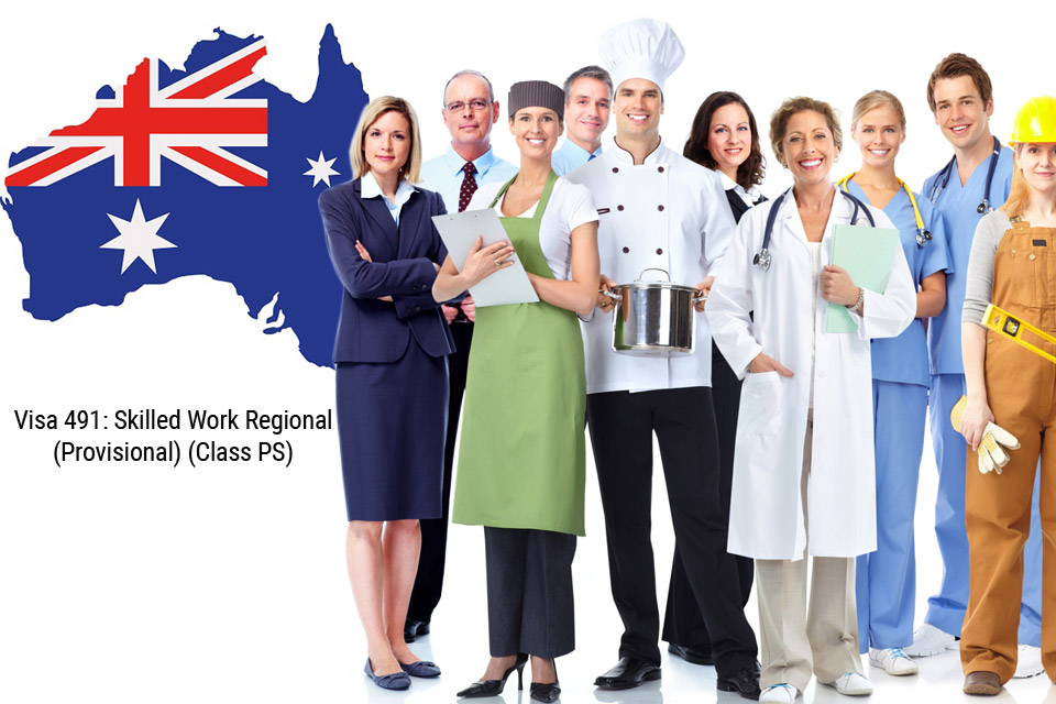 visa 491: skilled work regional (provisional) (class ps)