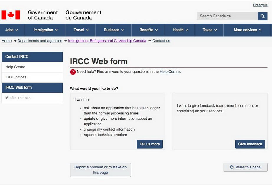 IRCC không còn chấp nhận biểu mẫu web đến canada từ những người có COPR đã hết hạn